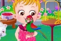 Baby Hazel e il pappagallo