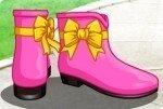 Disegna gli stivali da pioggia