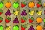 Frutta in riga
