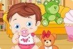 Il bebè e l'orsetto Teddy