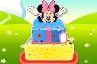 La torta di compleanno di Minni