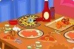 Riordina il party a base di pizza